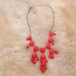 NWOT Pink Bubble Necklace
